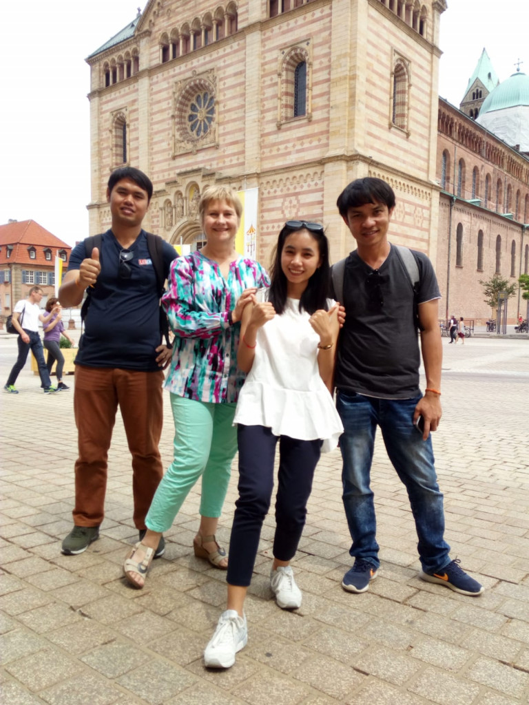 """""""Anna"""" brings us to visit Speyer city."""
