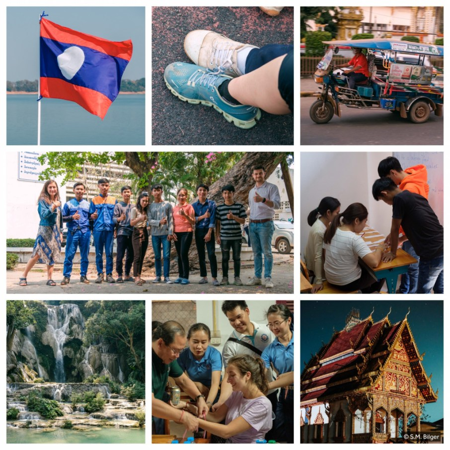 Living and working in Laos, P.D.R.