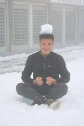 I am a snowman!