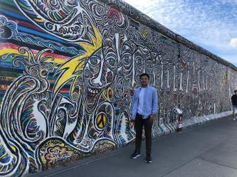 The fantastic art of Berlin wall