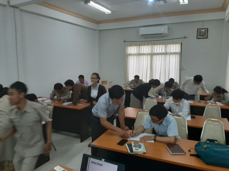 """A """"Teaching Methods and Activities"""" course for the lecturers at SKU."""