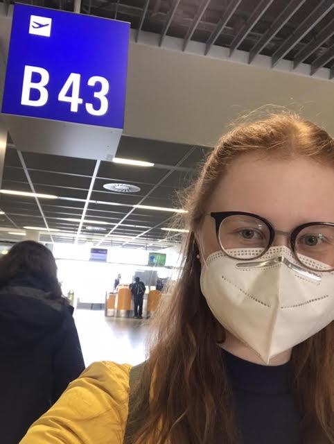 Frankfurt Airport...