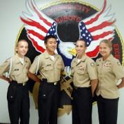 NJROTC Members Develop Leadership Skills Over Summer
