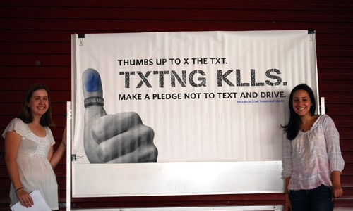 """CCHS Rallies To """"X The Text"""""""