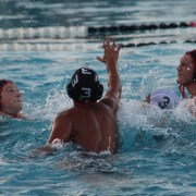 The boys' water polo team's undefeated season goes on
