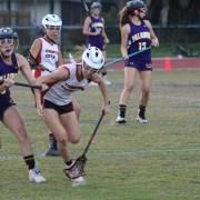 Girls' varsity lacrosse: The winning streak comes to an end
