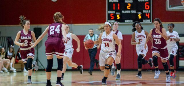 Girls' basketball senior night: Cowboys could not bounce back