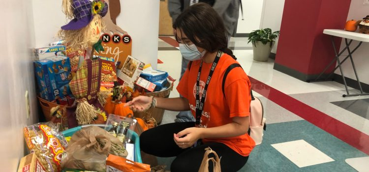 Helping others through the Harvest Drive: CCHS find ways to host Harvest Drive events from a distance