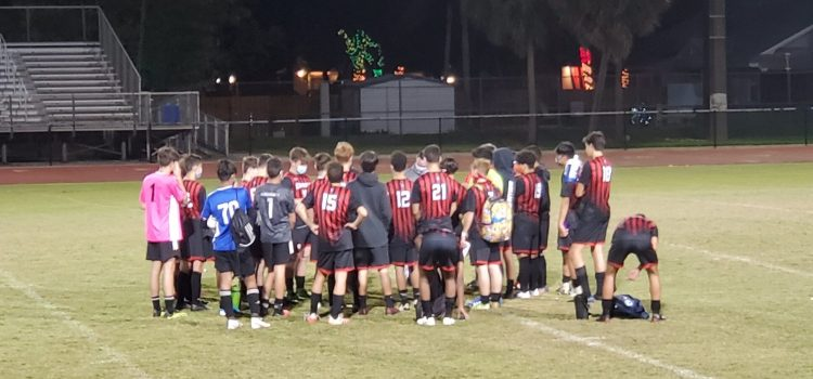 Boys' varsity soccer: Cowboys win season opener