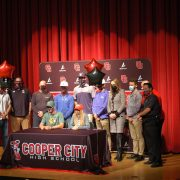 Sports signing day: CCHS student-athletes make college commitments