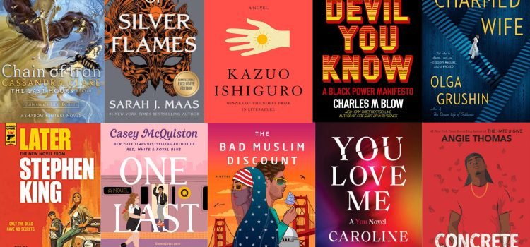 Treat yourself: A list of the most anticipated books of 2021
