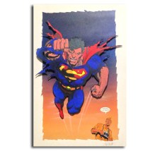 Superman Original Art