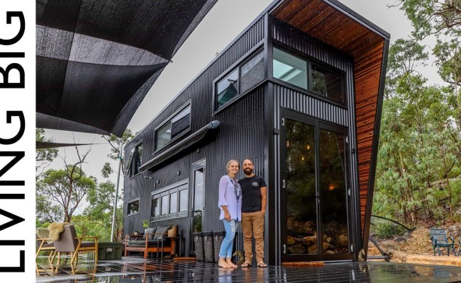 Ultra Modern Tiny Home Grabs Big Attention The Lasco Press