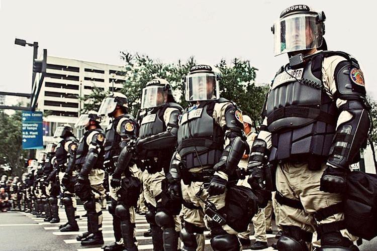 war on police