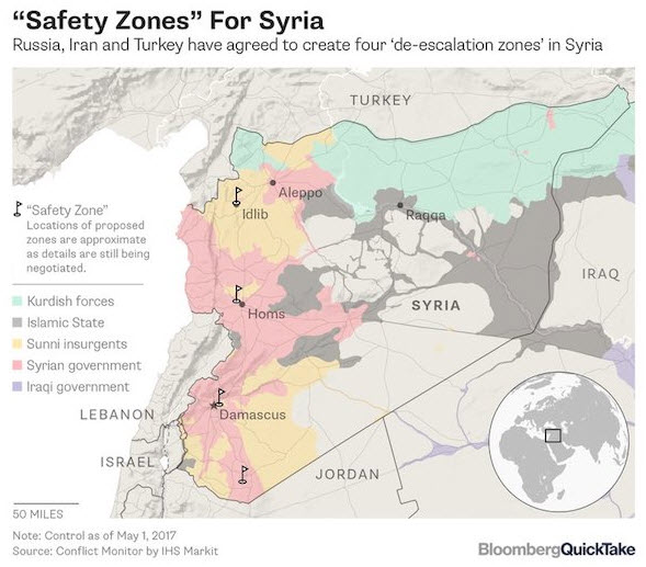 Russia Iran Turkey Impose US NoFly Zone Over Parts Of Syria - Us no fly zones map