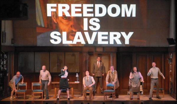 """Broadway Play """"1984"""" Is Causing Audiences To Vomit And Faint"""