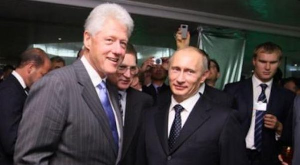 Emails Reveal Bill Clinton Met With Vladimir Putin Just Before Uranium One Deal
