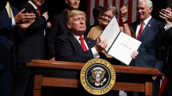 Trump Set To Outdo Both Bush And Obama On Executive Orders