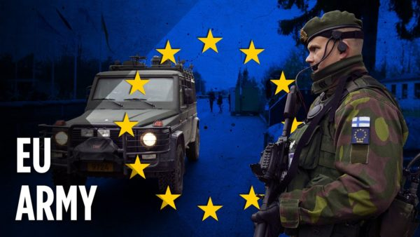"""Militarization of Western Europe stamped: """"Dawn of new EU Army ..."""