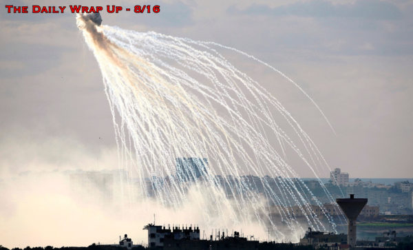 Israel Tests Chemical Weapons In Gaza, US Exposed For Protecting ISIS & Impending US Cyberattacks