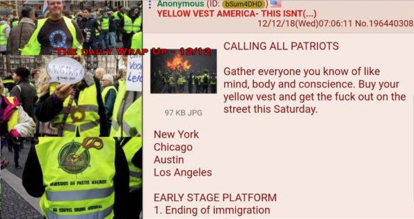 Hijacked Yellow Vests Coming To US?, DEW Bill, Farm Bill Yemen Secret, US al-Tanf Terror & MKULTRA Is Real