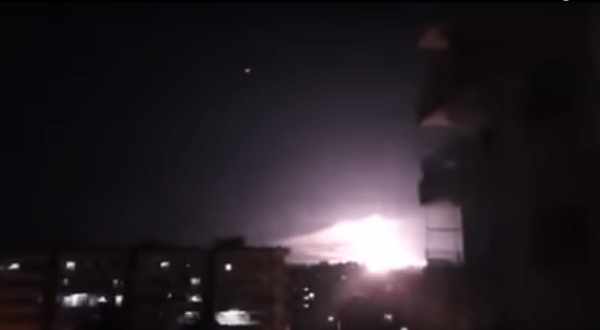 Israeli Warplanes Carry Out Second Airstrike On Damascus With 24 Hours