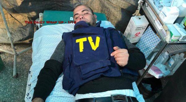 Israel Shoots 2 Journalists, US Coalition Kills 20 Fleeing Syrian Civilians & #FreeMarziehHashemi