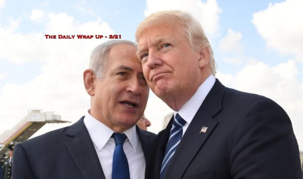 US To Give Golan Heights To Israel, Guaido's Staff Detained & France To Use Military On Yellow Vests