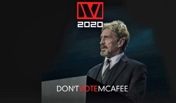 John McAfee interview - 2020 Campaign On Exposing The Broken System & Empowering The Individual