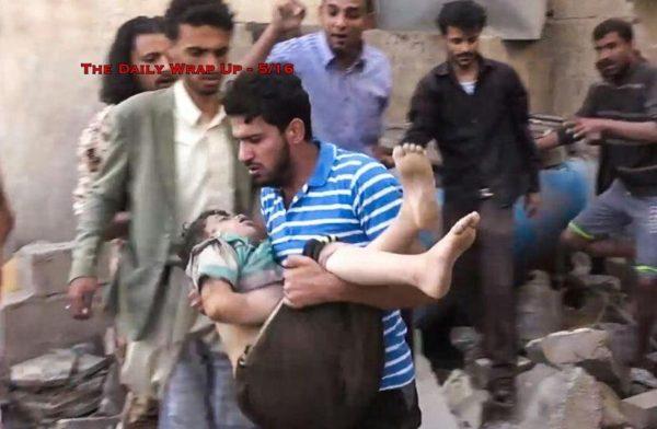 US Coalition Kills 58 Yemen Civilians, Saudis Call For 'Surgical Strikes' On Iran & Manning Arrested