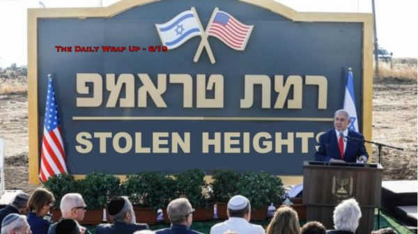 UN Has Evidence That MBS Ordered Khashoggi Murder & Israel Names Illegal Settlement