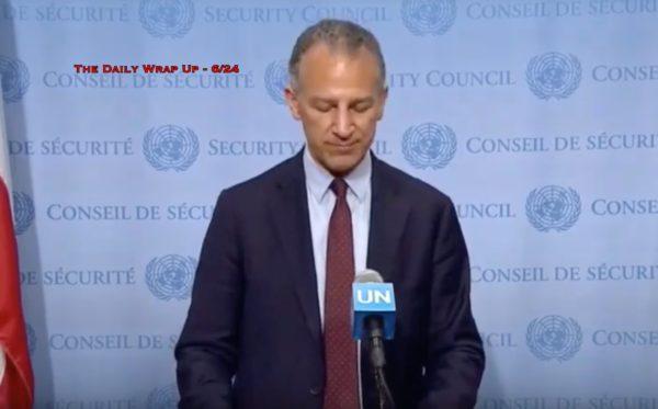 US Denied Iran UN Access To Present Evidence, Pipeline Sabotage In Syria & Oman Denies Warning Iran