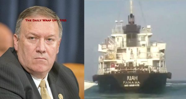 Panama Admits Tanker Iran Seized Did Violate Intl. Law & Iran Sentences
