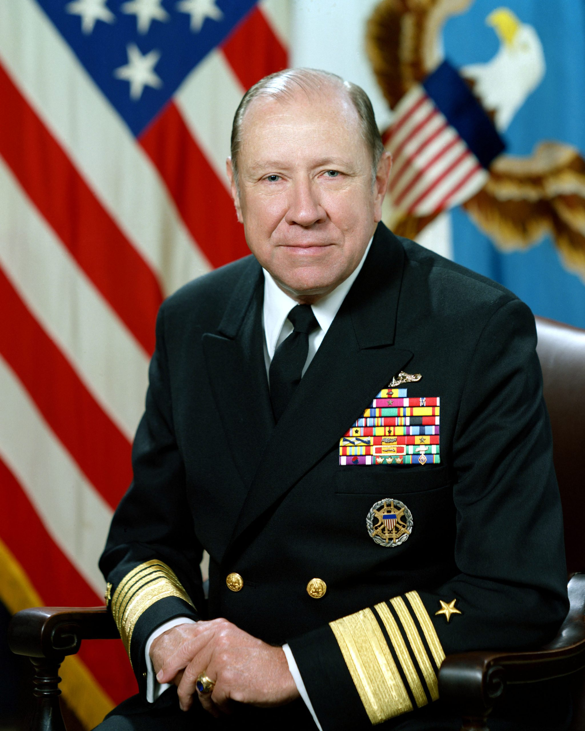 ADM William J. Crowe Jr., USN.