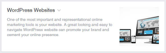 Adding a Services section to your Facebook Business Page