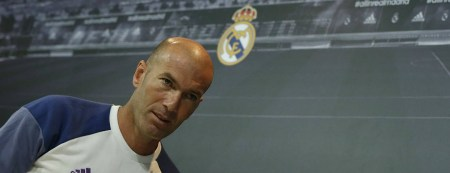 Zinedine Zidane Real Madrid 2016