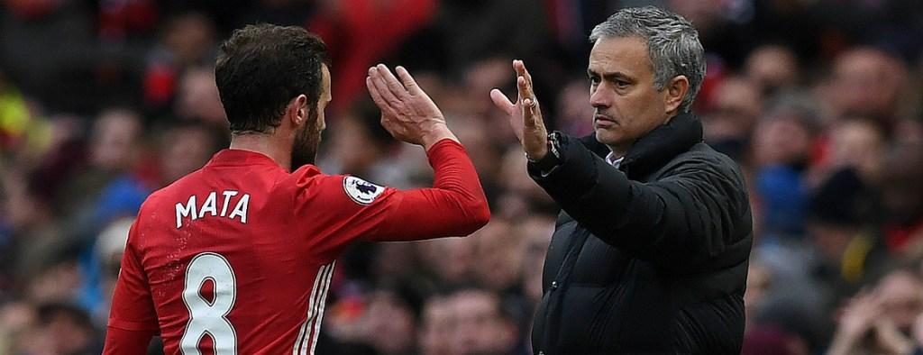 Mourinho Juan Mata Manchester