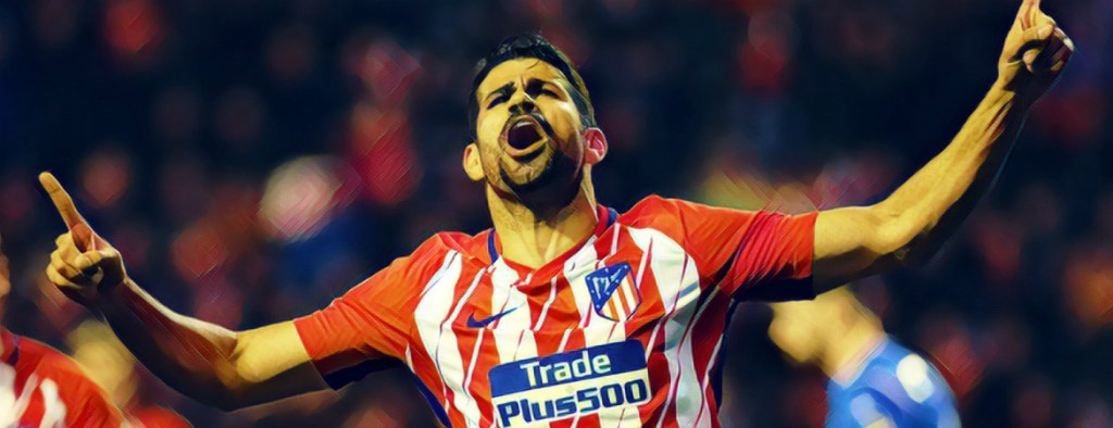 Diego Costa Atletico de Madrid 2018