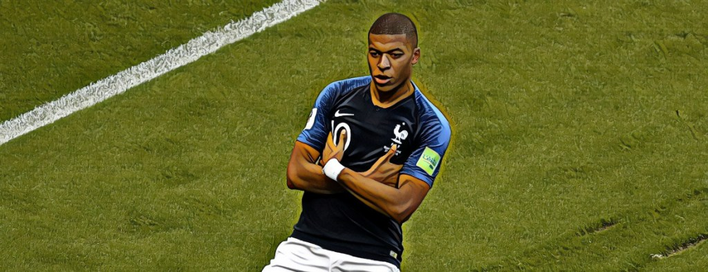 mbappe world cup 2018