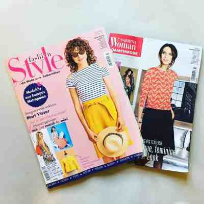 Knip Mode Fashion Style Sabrina Pattern magazine