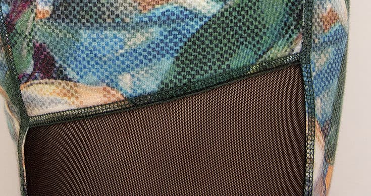 How to sew mesh inserts