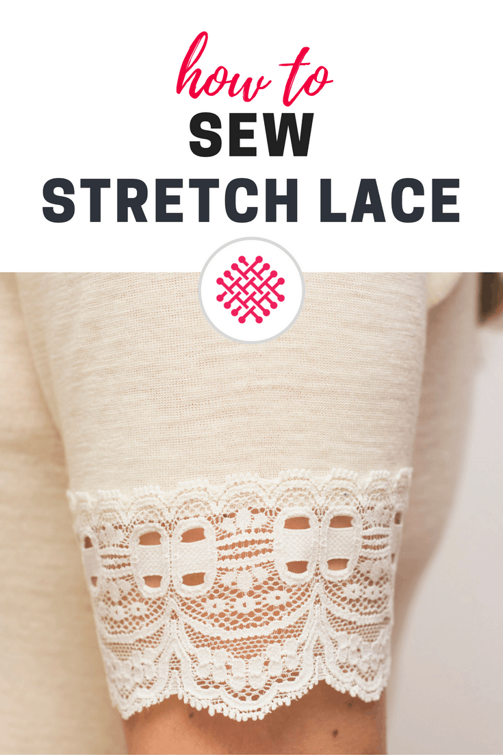 How to sew stretch lace Sewing tutorial Last Stitch