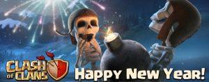 AllClash Happy New Year e1514377148783 - Cosa aspettarci da Clash of Clans nel 2018?