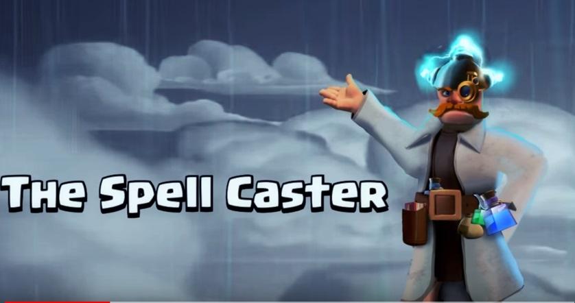 "Nuovo eroe su Clash of Clans: ""The Spell Caster"""
