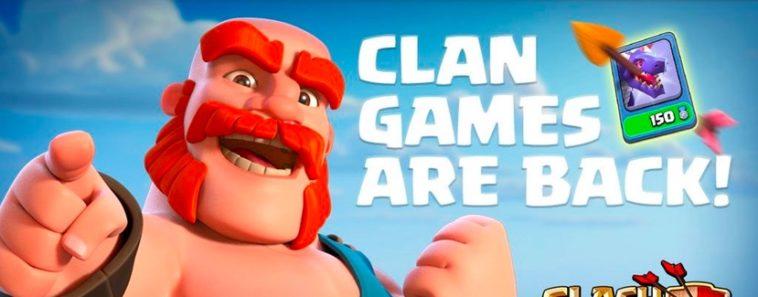 Calendario di Febbraio dei prossimi Clan Games