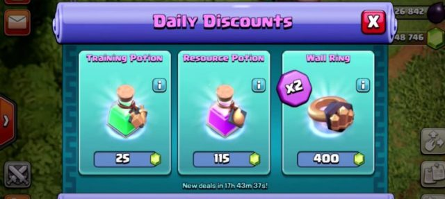 trader deals 758x340 - Sneak Peeks #2: Mercante e Bilanciamento su Clash of Clans
