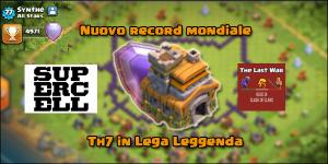 foto articolo 72 - Record Mondiale: nuovo TH7 in Lega Leggenda!
