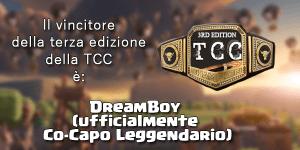 premio vincitore - TCC3, il dado è tratto: il vincitore è..