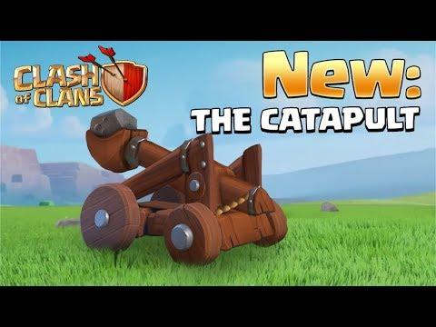 La Catapulta sarà la prossima MACCHINA D'ASSEDIO su Clash of Clans?