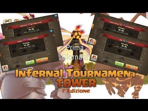 0 8 - Infernal Tournament Tower - Giornata 1: Attacchi Migliori e Vincitori!